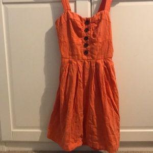 Orange dress!